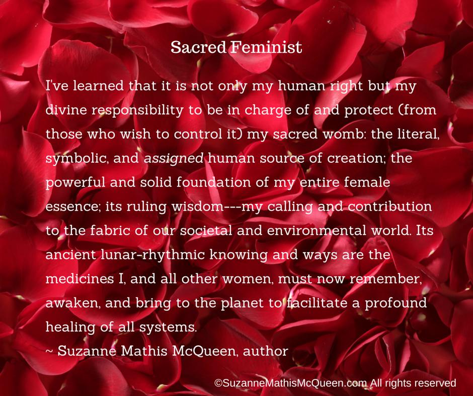 Red Sacred Feminist