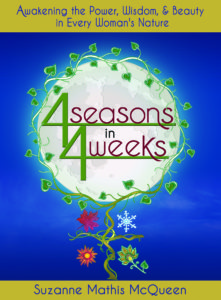Cover photo for the book, 4 Seasons in 4 Weeks