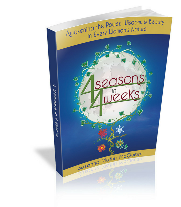4 Seasons in 4 Weeks the book suzanne mathis mcqueen dot com