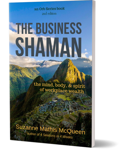 The Business Shaman book by Suzanne Mathis McQueen