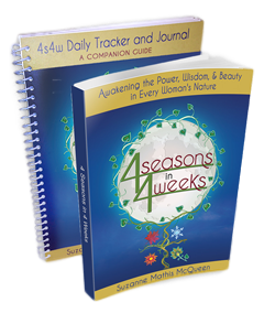 4 Seasons in 4 Weeks book and journal