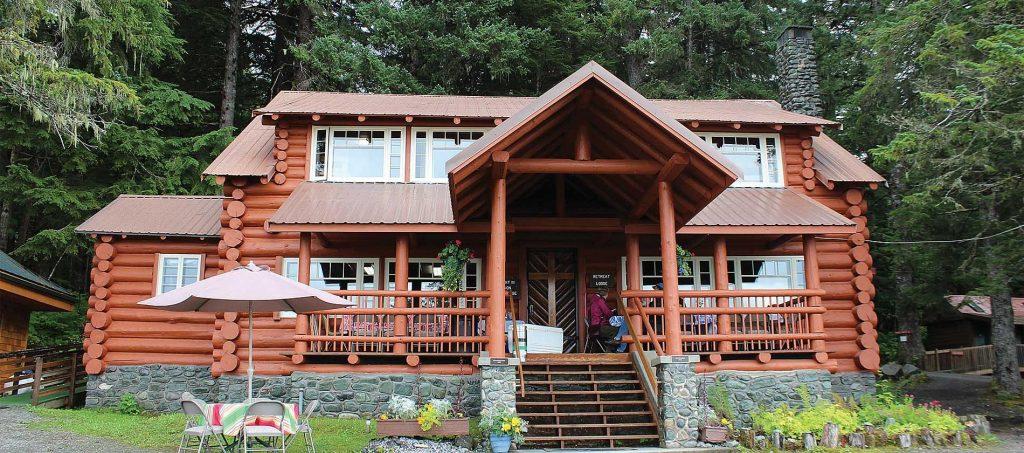 The Shrine retreat center juneau alaska main lodge